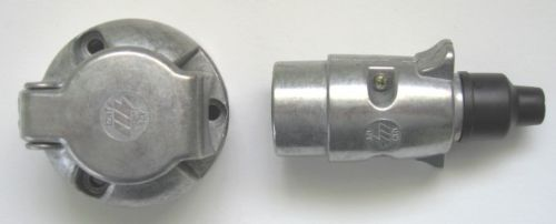 7 Pin Plug and Socket 'N' type
